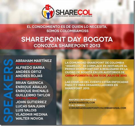 SharePoint Day Bogotá 2013