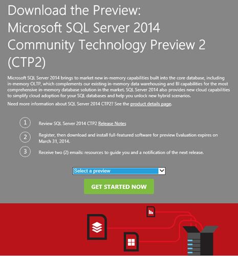 SQL Server 2014 CTP2